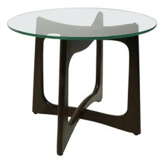 Sculptural Pearsall End Table