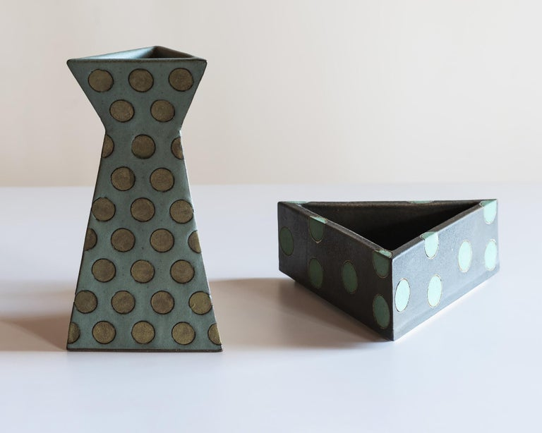 Sculptural Polka Dot Vase by Matthew Ward, New Mexico 2019 For Sale 4