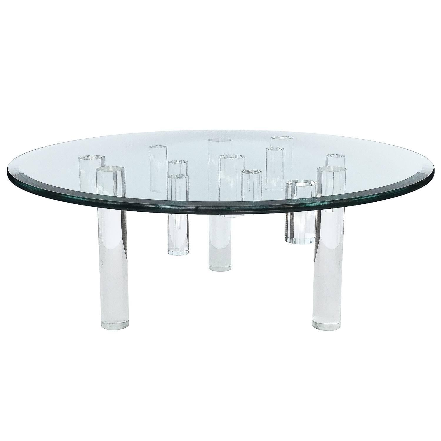 coffee lucite isamu distressed table noguchi rustic