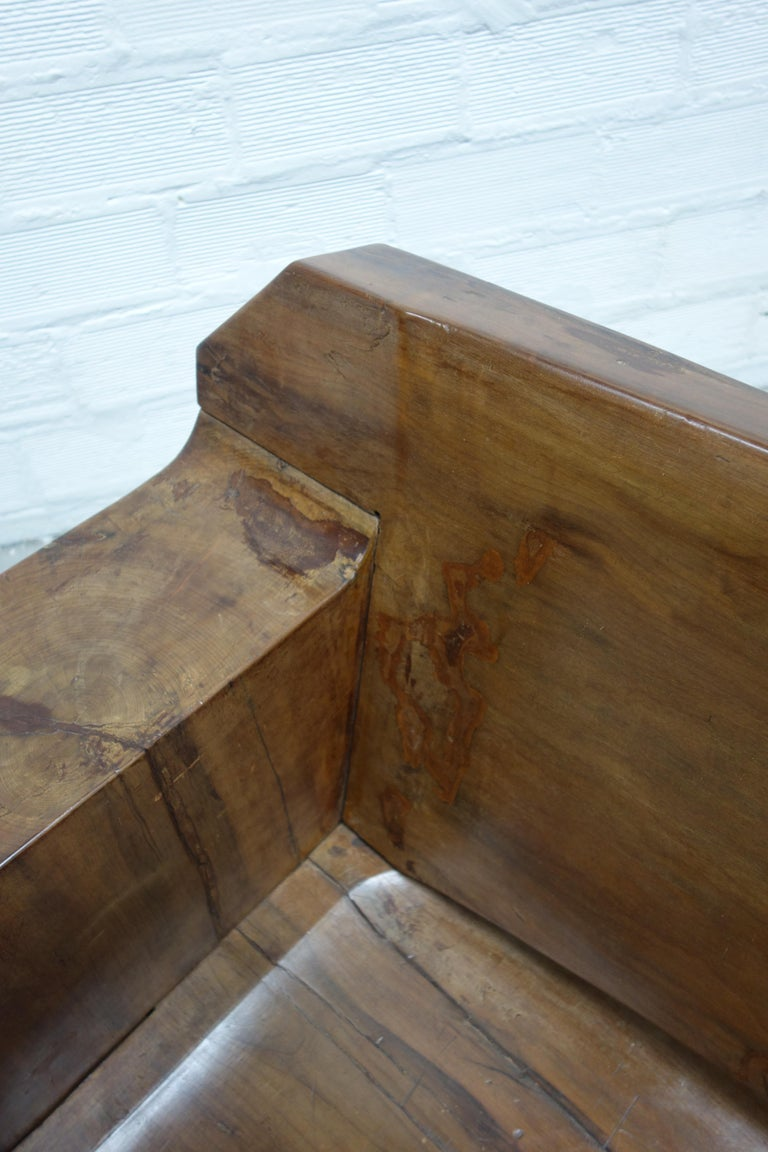 Sculptural Solid Wood and Handcrafted Sofa by Jose Zanine Caldas, circa 1980 For Sale 6