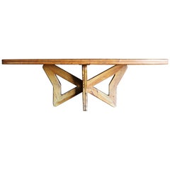 Sculptural Studio Crafted Dining Table, Dominican Republic, circa 1950