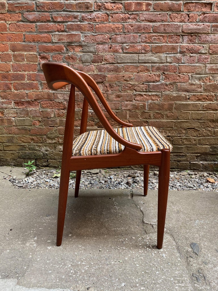 Upholstery Sculptural Teak Chairs by Johannes Andersen for Moreddi, Denmark For Sale