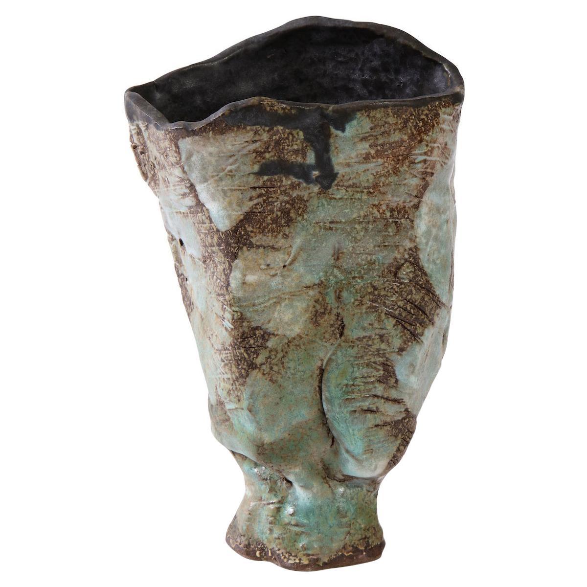 Sculptural Vase #5 by Dena Zemsky