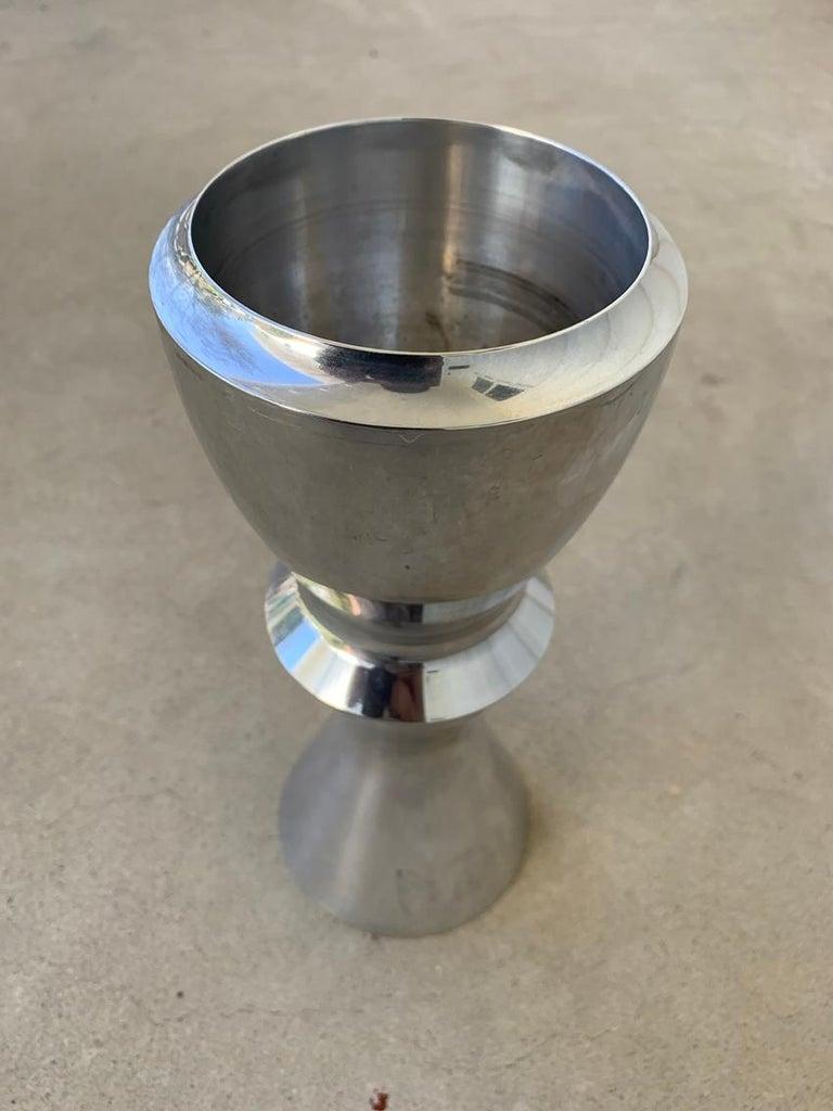 Metal Sculptural Vase by Karim Rashid for Nambe #621