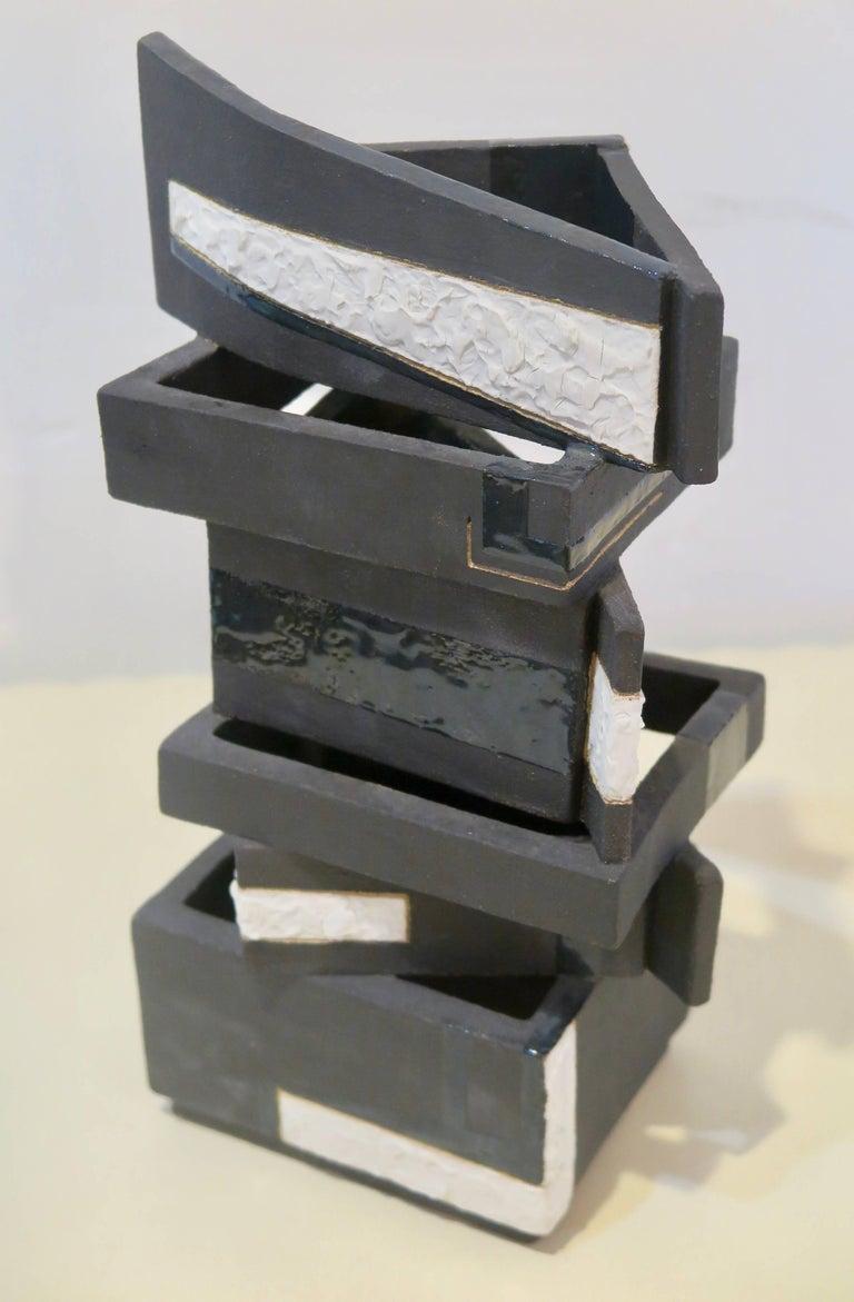 Modern Sculptural Vessel by Kathryn Robinson, Millen For Sale