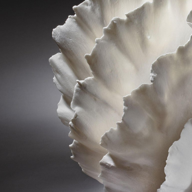 Hand-Crafted Sculptural Vessel by Sandra Davolio For Sale