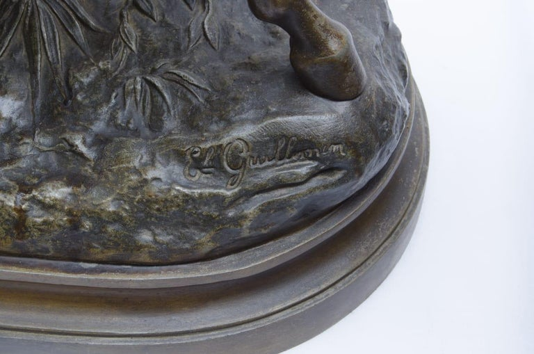 Neoclassical Sculpture 'Arab on Horseback' Foundry Pewter For Sale