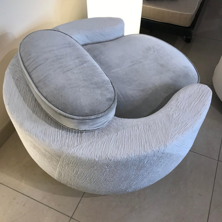 Contemporary Sculpture Armchair For Sale