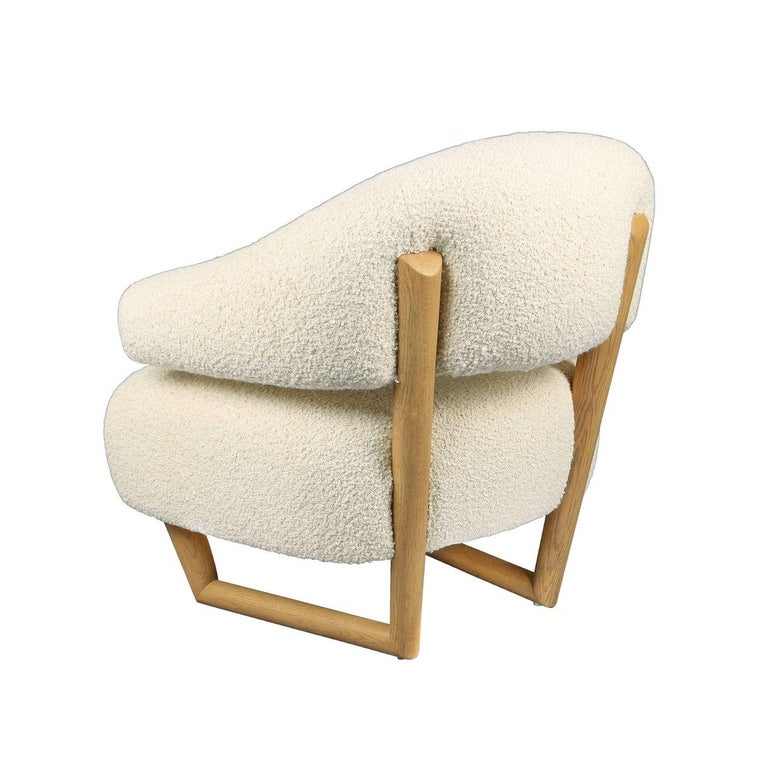 'Sculpture' Armchair in the Style of Jean Royère 'r' In New Condition In Glendale, CA