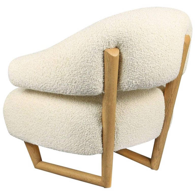 'Sculpture' Armchair in the Style of Jean Royère 'r'