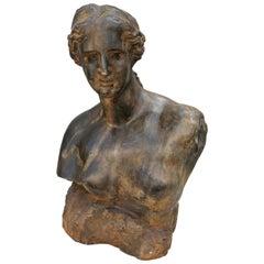 Sculpture Bust of a Woman, 1960s