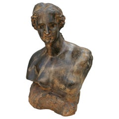 Sculpture Bust of a Woman, 1960s