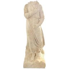 Sculpture Bust Statue, 16th Century Italian Renaissance Marble Angel