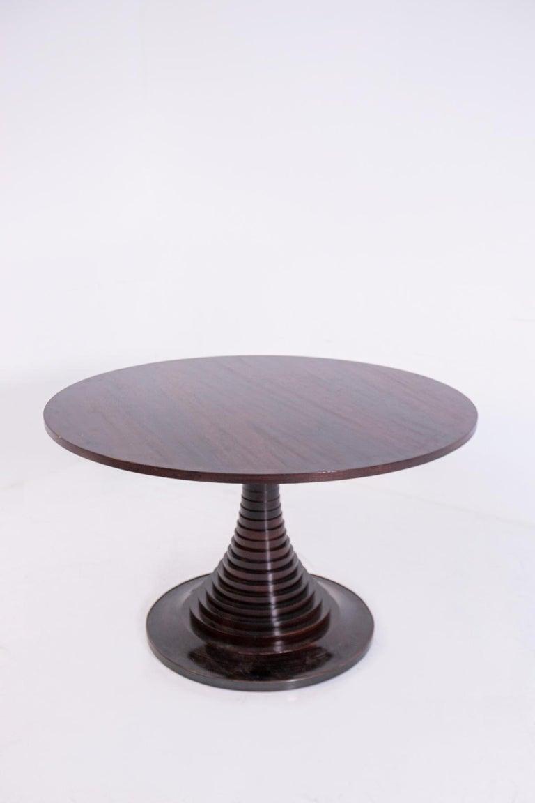 Mid-20th Century Sculpture Center Table by Carlo de Carli for Sormani, 1963 For Sale