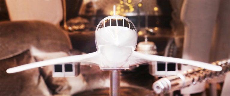 Sculpture Concorde Model Scale 1/36 For Sale 5