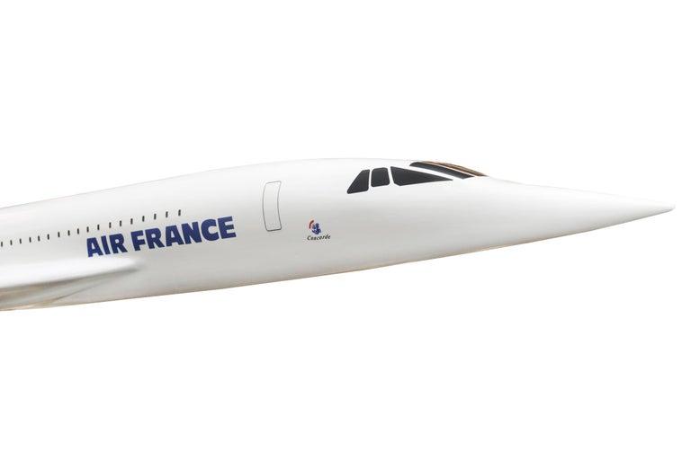 Sculpture Concorde Model Scale 1/36 For Sale 1