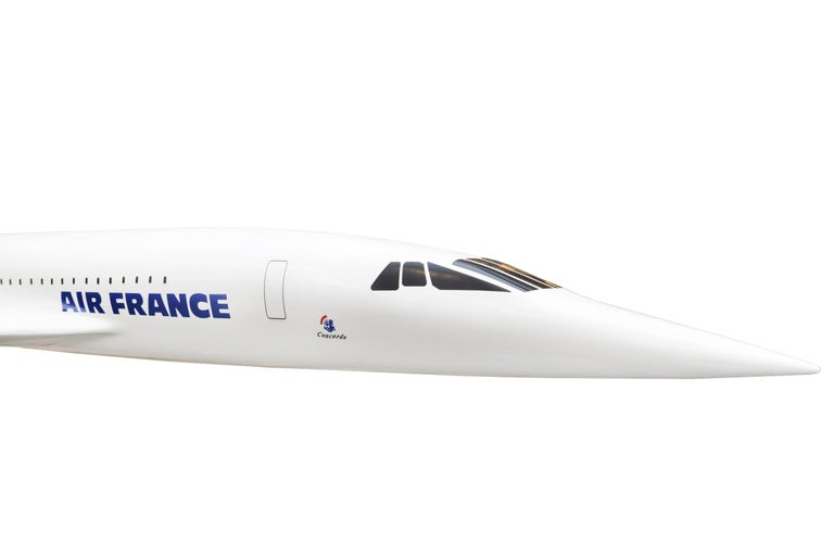 Sculpture Concorde Model Scale 1/36 For Sale 2