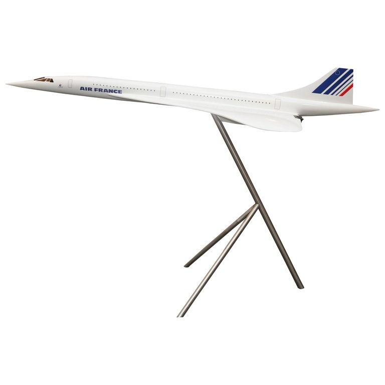 Sculpture Concorde Model Scale 1/36 For Sale