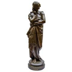 Sculpture 'El Dante' A. Carrier