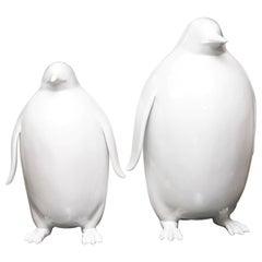 Sculpture Emperor Penguin Set of 2
