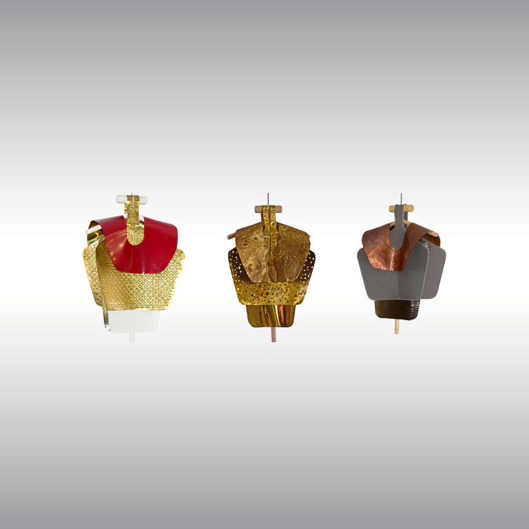 Contemporary Series of 3 Sculptures for the Vienna Design Week Lucidi Pevere by Woka Vienna For Sale