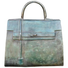 Sculpture, Kelly Bag in Bronze