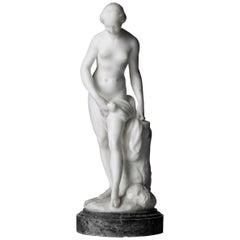 Sculpture, Le Bagneuse, after Étienne Maurice Falconet