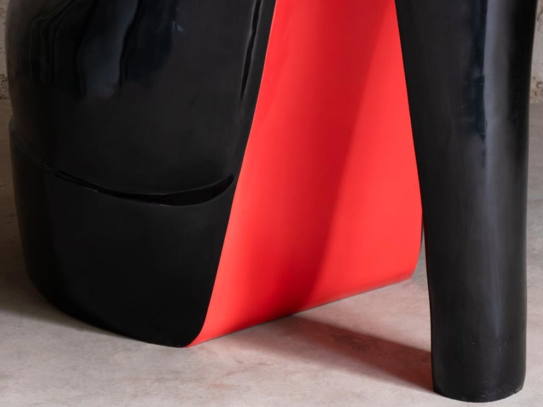 Sculpture Louboutin Black Shoe Limited Edition For Sale 4