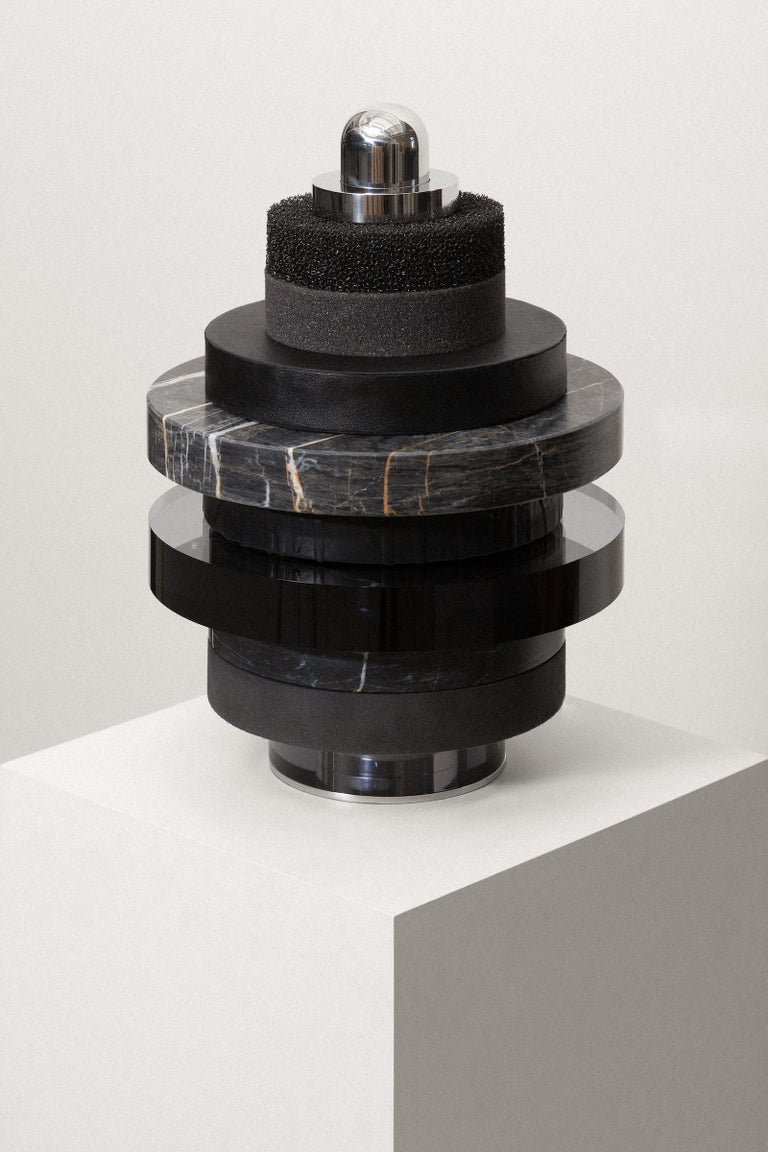 Other Sculpture, Marble Wood Stainless Steel Acrylic Glass Latex Foam, by VAUST Studio For Sale