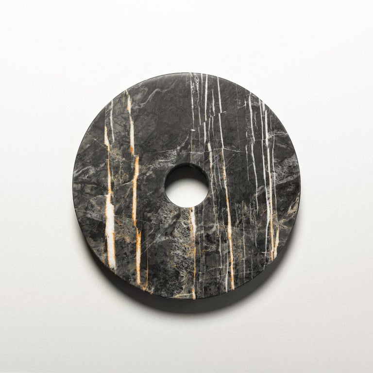 German Sculpture, Marble Wood Stainless Steel Acrylic Glass Latex Foam, by VAUST Studio For Sale