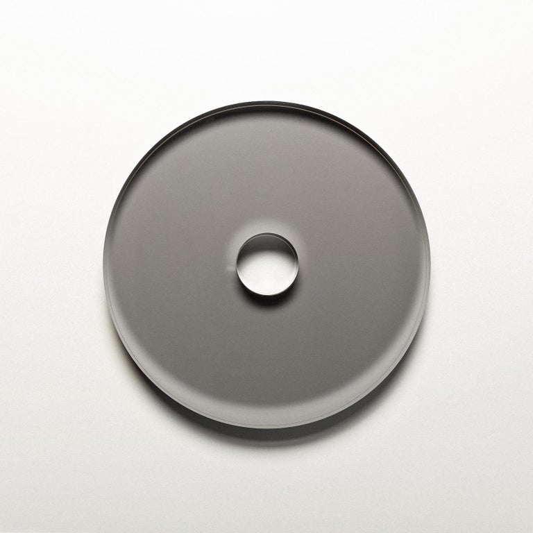Contemporary Sculpture, Marble Wood Stainless Steel Acrylic Glass Latex Foam, by VAUST Studio For Sale