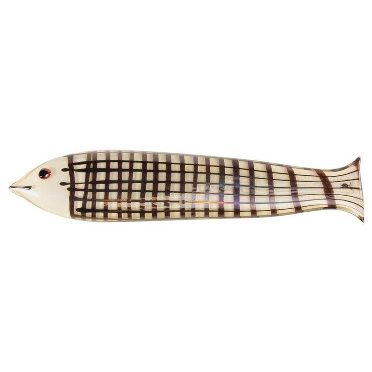 Sculpture Modeled as a Fish, Ken Scott, Venini