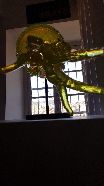 Contemporary Sculpture Murano Glass Medusa For Sale