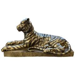 Sculpture of a Bengal Tiger