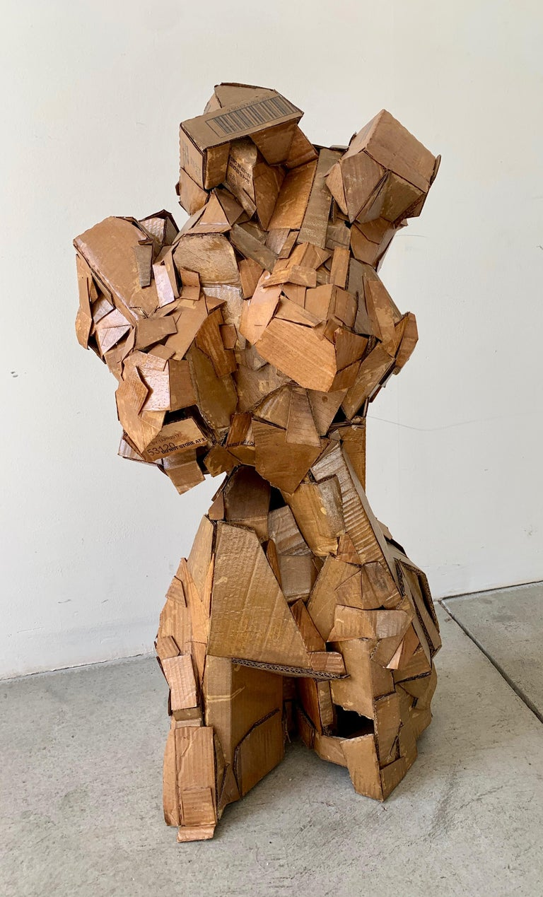 Sculpture of a Woman For Sale 5