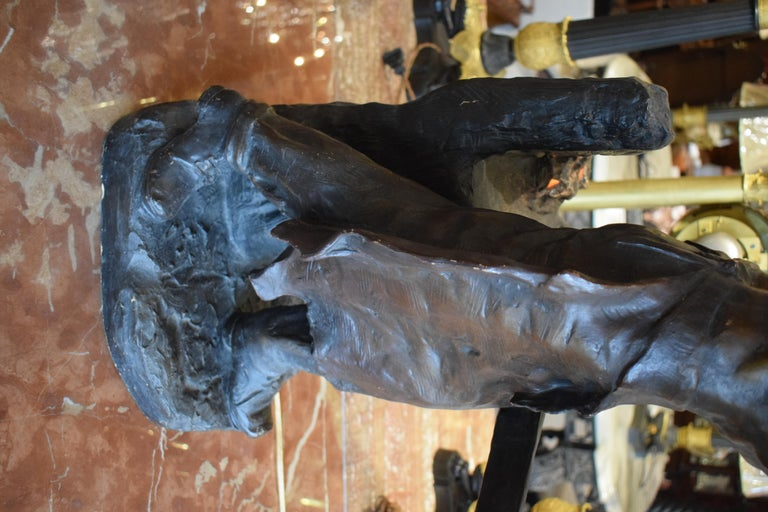 Sculpture of Blacksmith For Sale 3