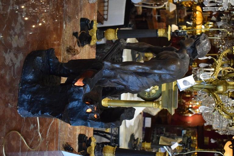 Sculpture of Blacksmith For Sale 5