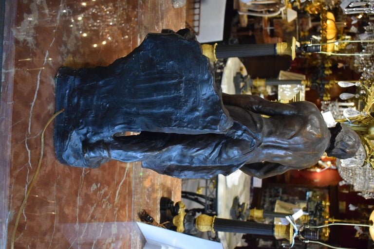 Sculpture of Blacksmith For Sale 6