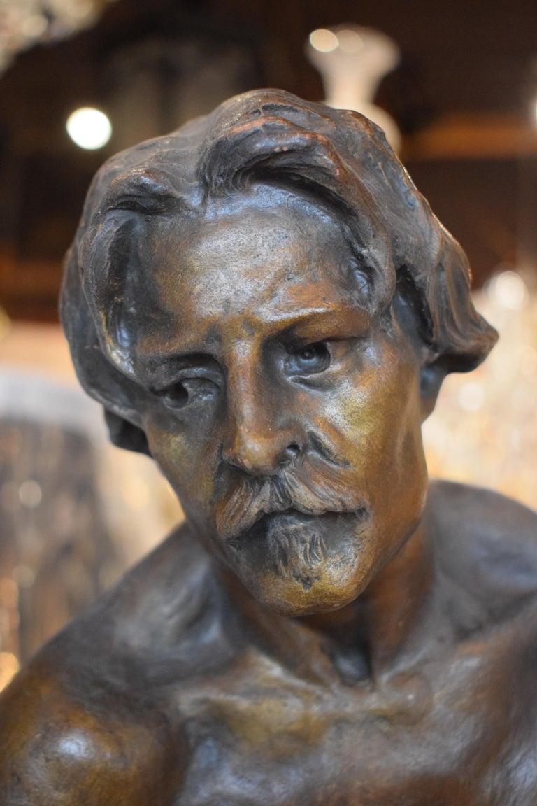 Sculpture of Blacksmith For Sale 1
