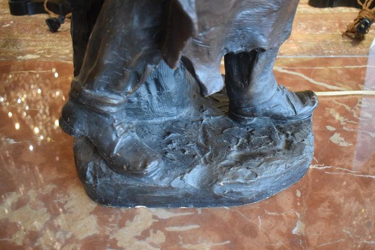 Sculpture of Blacksmith For Sale 2