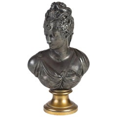 Sculpture of Diana in Metal