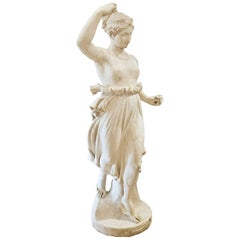Sculpture of Flora, Italy, circa 1880