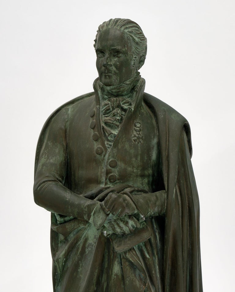 Late 19th Century Sculpture of French Empire General For Sale