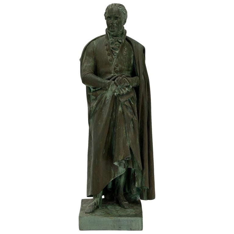 Sculpture of French Empire General For Sale