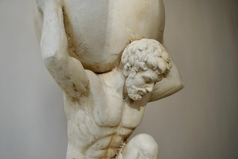 Sculpture of Hercules Bearing the World after Antonio Canova 3