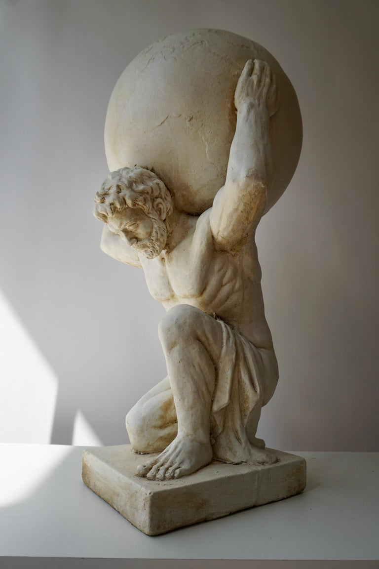 Sculpture of Hercules Bearing the World after Antonio Canova 5