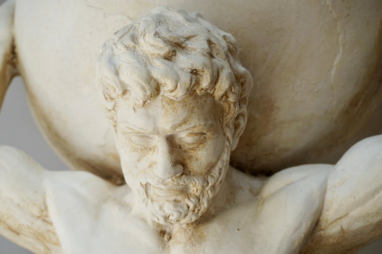 Sculpture of Hercules Bearing the World after Antonio Canova 7