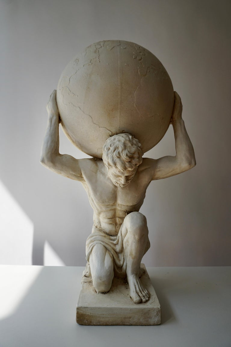 Sculpture of Hercules Bearing the World after Antonio Canova 8