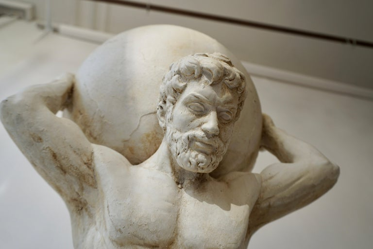 Sculpture of Hercules Bearing the World after Antonio Canova 2
