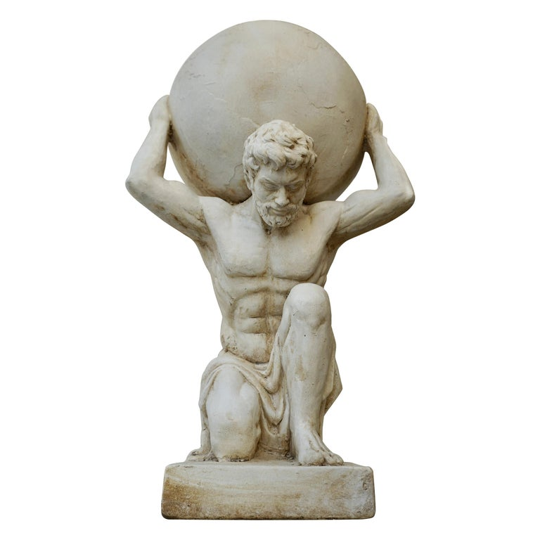 Sculpture of Hercules Bearing the World after Antonio Canova